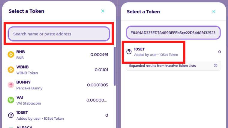 【買い方】10SET(テンセット)をBSCのPancakeswapで手に入れる方法<仮想通貨>